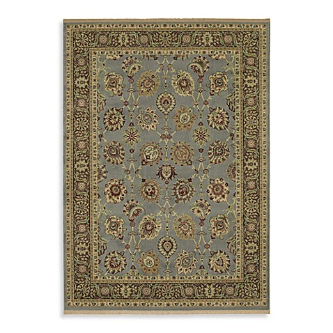 Shaw Century Collection Lenox 2-Foot 6-Inch x 8-Foot 1-Inch Runner in Vintage Blue