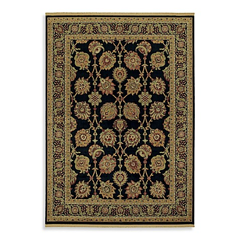 Shaw Century Collection Lenox 3-Foot 10-Inch x 5-Foot 9-Inch Rug in Onyx