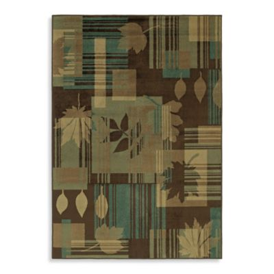 Shaw Accents Collection Linville Rectangle Rugs in Loden