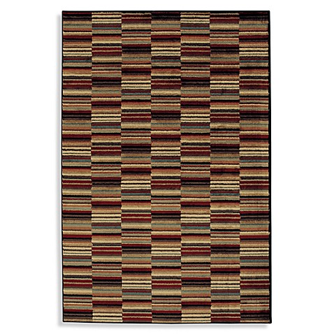 Shaw Accents Collection Loft 1-Foot 11-Inch x 7-Foot 6-Inch Runner in Multi