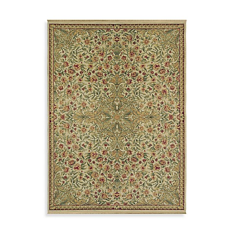 Shaw Antiquities Collection Mille Fleur Rugs in Beige