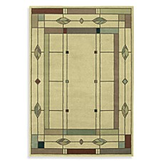 Shaw Timber Creek by Phillip Crowe Mission Leaf Beige Rectangle Rugs