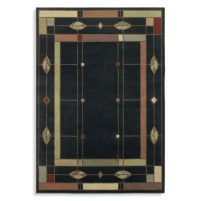 Shaw Timber Creek by Phillip Crowe Mission Leaf Onyx Rectangle Rugs