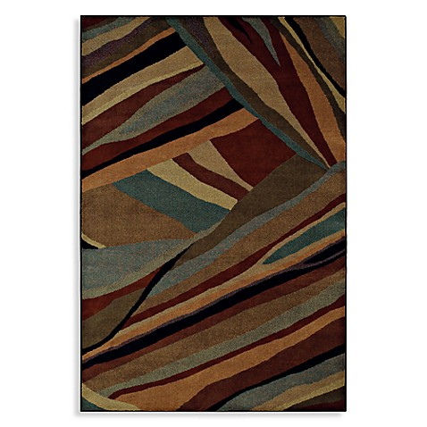 Shaw Accents Collection Mystique Multicolor Rectangle Rugs