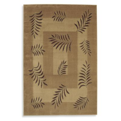 Shaw Accents Collection New Leaf Rugs in Natural