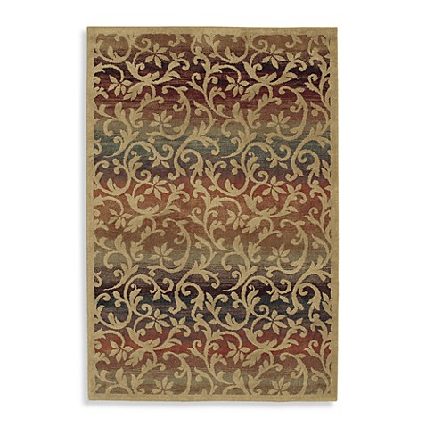 Shaw accents collection ornament rugs in natural bed - Shaw rugs discontinued ...