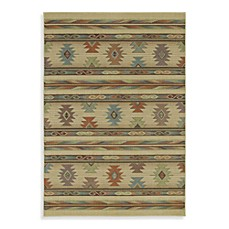 Shaw Timber Creek by Phillip Crowe Rectangle Rugs in Pueblo Beige