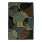 Shaw Accents Collection Radius Rectangle Rugs in Ebony