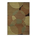 Shaw Accents Collection Radius Rectangle Rugs in Gold