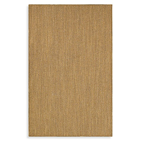 Shaw Natural Expressions Collection Rattan Gold Coast 5-Foot x 8-Foot Rug
