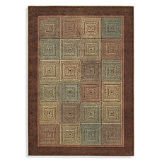 Shaw Origins Collection Rhythm Earthen Brown Rugs