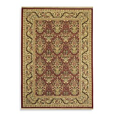 Shaw Antiquities Collection Savonnerie Rectangle Rugs in Brick