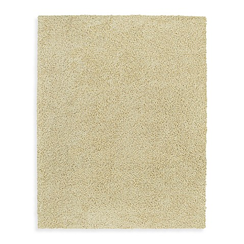 Shaw Ultra Shag Collection Ivory Tusk Rectangle Rugs