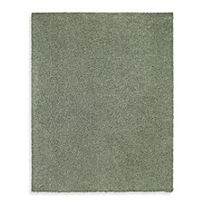 Shaw Ultra Shag Collection Rectangle Rugs in Sea Grass