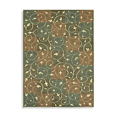 Shaw Reverie Collection Swirl Fern Rugs