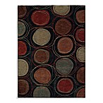 Shaw Modernworks Collection Synergy Rectangle Rugs in Black