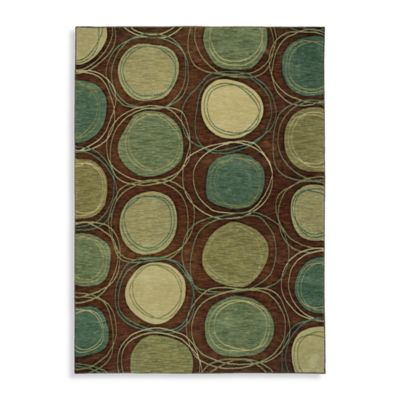 Shaw Modernworks Collection Synergy Rectangle Rugs in Brown