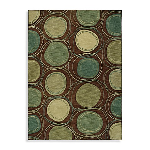 Shaw Modernworks Collection Synergy 3-Foot 6-Inch x 5-Foot Rug in Brown