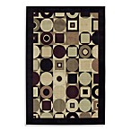 Shaw Collection Tribeca Rectangle Rugs in Black