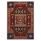 Shaw Inspired Collection Vallero Rectangle Rugs in Red