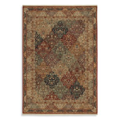 Shaw Renaissance Collection Venice Multicolor Rectangle Rugs