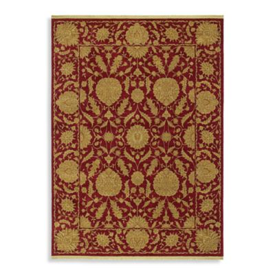 Shaw Antiquities Collection Wilmington Rectangle Rugs in Brick