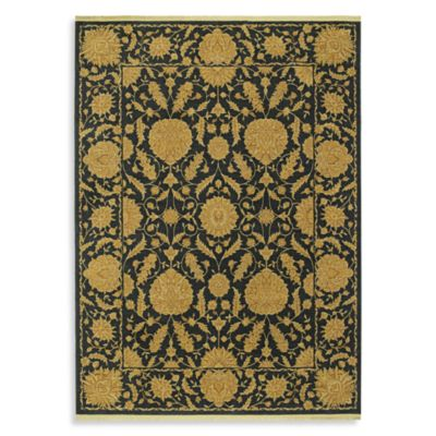 Shaw Antiquities Collection Wilmington Rectangle Rugs in Ebony