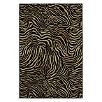 Shaw Accents Collection Zimbabwe Rectangle Rugs in Ebony