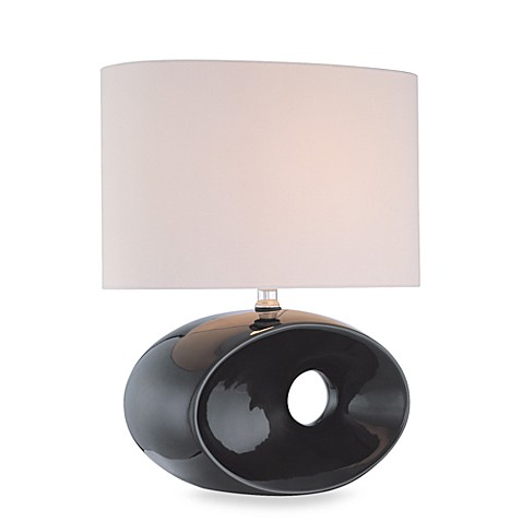 Lite Source Hennessy Table Lamp in Black