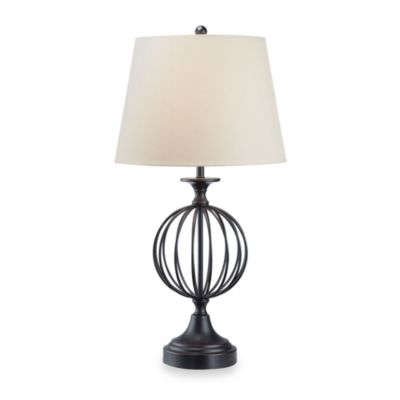 Octavia Table Lamp in Black