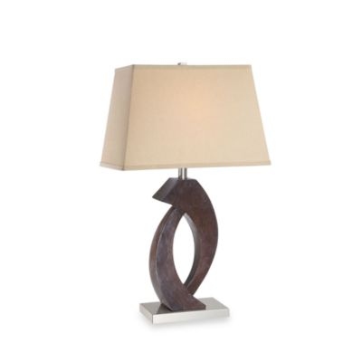 Octavia Table Lamp in Beige