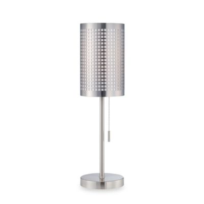 Bain Table Lamp With On-Off Pull Switch