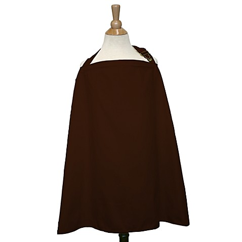 The Peanut Shell® Nursing Cover in Chocolate