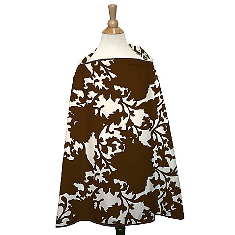 The Peanut Shell® Nursing Cover in Mudd Pie