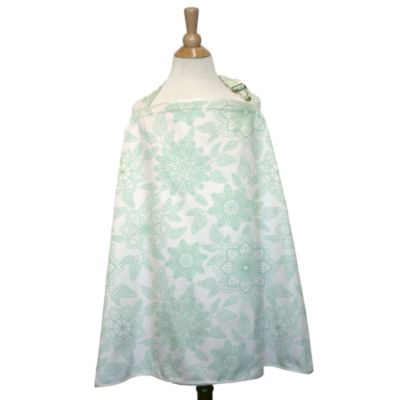 The Peanut Shell® Nursing Cover in Morning Bloom