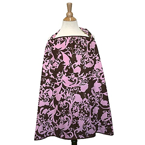 The peanut shell nursing cover in pink couture www for Canopy couture