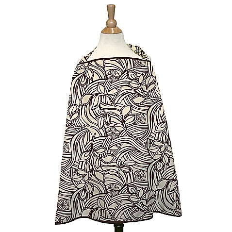 The Peanut Shell® Nursing Cover in Vanilla Bean