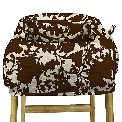 The Peanut Shell® High Chair and Shopping Cart Cover in Mudd Pie