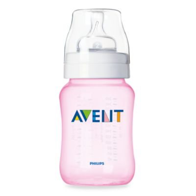 Avent 3-Pack 9-Ounce Bottles in Pink