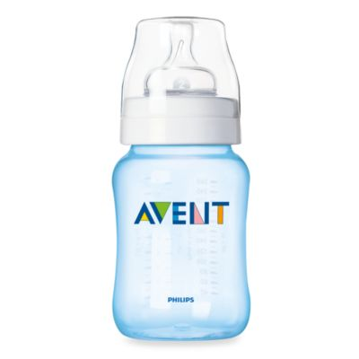 AVENT 3-Pack 9-Ounce Bottles in Blue