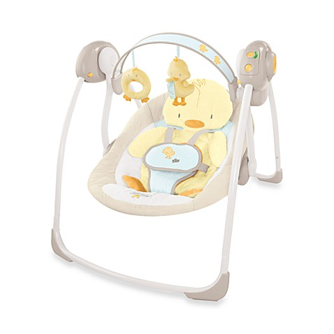 Comfort & Harmony™ Portable Swing in Duckling™