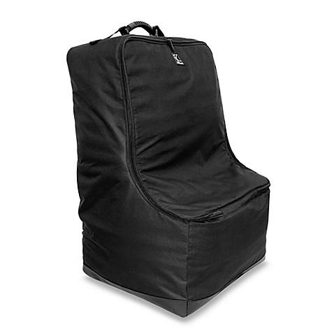 j l childress elite car seat travel bag in black bed bath beyond. Black Bedroom Furniture Sets. Home Design Ideas
