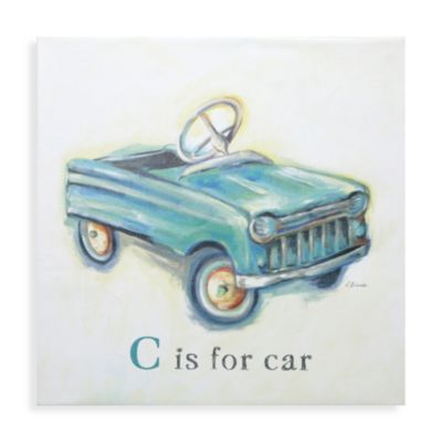C is for Car Wall Art