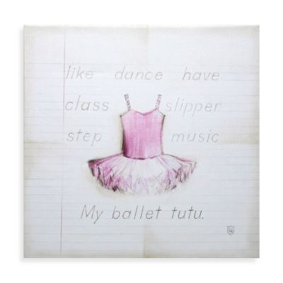 My Ballet Tutu Wall Art