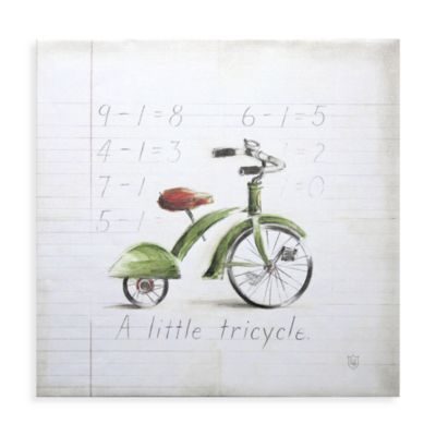 Little Tricycle Wall Art