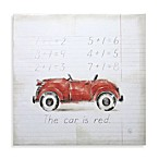 Red Car Wall Art
