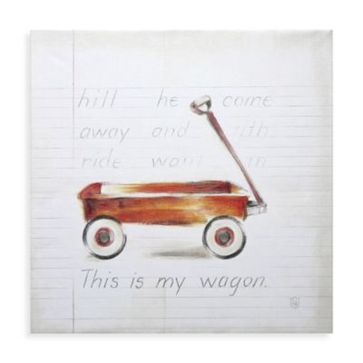Little Wagon Wall Art