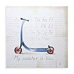 My Scooter Wall Art