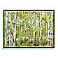 Essence Green Trees Wall Art