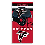 NFL Atlanta Falcons Shadow 30-Inch x 60-Inch Beach Towel